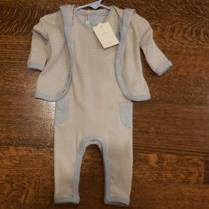 Restoration Hardware Baby & Child striped layette